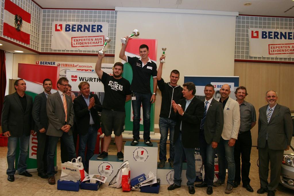 Landesmeisterschaften KFZ-Techniker Wien