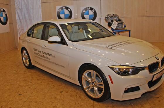 Neuer BMW 328d für die Siegfried Marcus Berufsschule