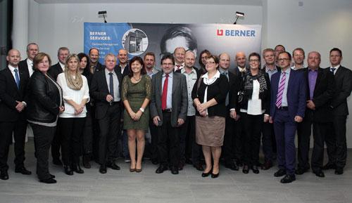 Berner ehrt Mitarbeiter - Siegfried Marcus Berufsschule