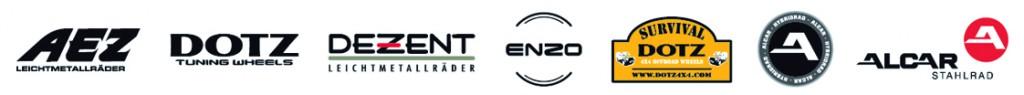 Logoleiste mit AEZ_DOTZ_DEZENT_ENZO_4x4_HYBRID_STAHLRAD_2014