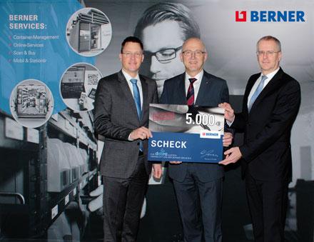 Berner spendet 5000 Euro - Siegfried Marcus Berufsschule