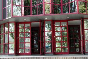 Eingang der Siegfried Marcus Berufsschule
