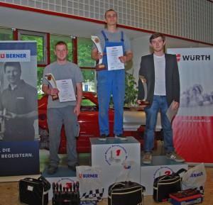 Die Sieger des Landeslehrlingswettbewerbs Wien