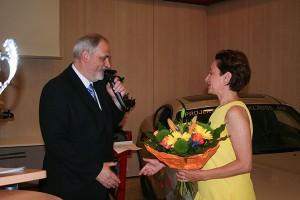 OSR Dir. Markus Fuchs, Elisabeth Schuller (General Motors)