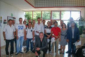Klasse 3H Bauspengler - Klassenvorstand: BOL Dipl.-Päd. SR Josef Wittich, Direktor: OSR Dipl.-Päd. Ing. Berthold Kunitzky