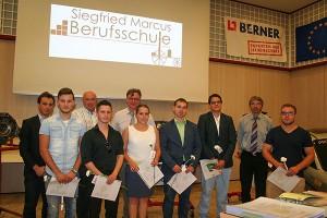 4G Klassenvorstand: Vtl Peter Strobl, und 4H Klassenvorstand: Vtl. Ing. Gerhard Schmid