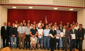 Foto der Diplomierten und Ausgezeichneten