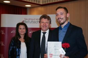 4O/Klassenvorstand: Vtl Angela Klöpfer, BEd, Berufsschulinspektor Thomas Bäuerl, Wesjak Alexander
