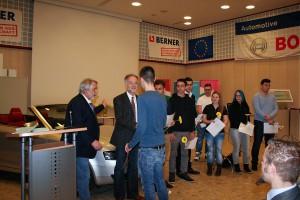 Abschlussfeier diplomierter und ausgezeichneter Schüler SKM - 9