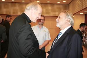 Am 05.12.2017 besuchte Kardinal Christoph Schönborn die Siegfried Marcus Berufsschule in Strebersdorf