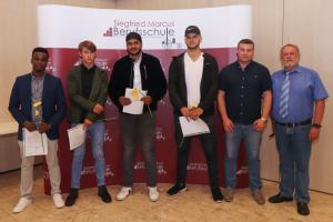 Am 28. Juni 2018 fand in der Siegfried Marcus Berufsschule die gemeinschaftliche Abschlussfeier statt.