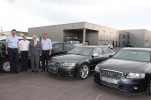 Audi A6 und S8 für Schulungszwecke