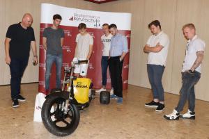 Funfahrzeug Denzel - Projekt der 4PD der Siegfried Marcus Berufsschule
